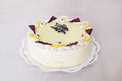 Citromos vanília torta